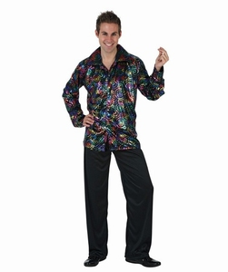 Deguisement costume Disco homme flash