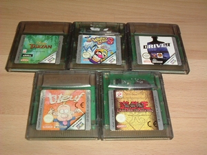 Lot 5 jeux de Game Boy