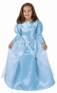 Deguisement costume Princesse bleue 7-9 ans
