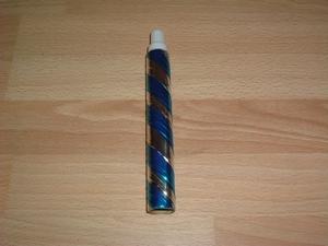Cotillons  tube lance boules bleu neuf
