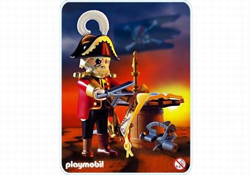 Playmobil Capitaine corsaire 3936