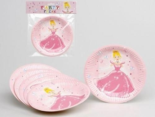 Assiettes Princesse x 6