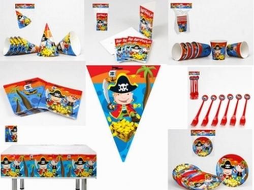 Lot anniversaire Pirate