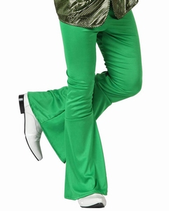 Deguisement costume Disco Pantalon vert
