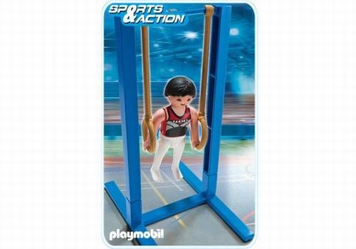 Playmobil Gymnaste et anneaux