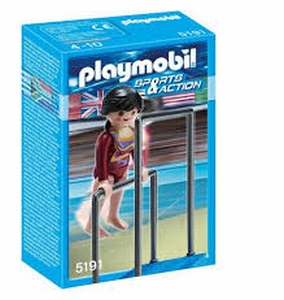 Playmobil Gymnaste et barres asymétriques