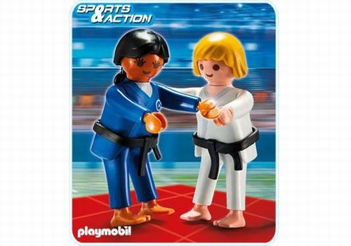 Playmobil 2 Judokas