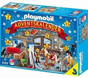 Playmobil Calendrier Avent Centre Équestre 4159