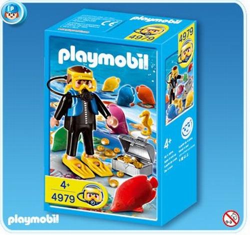 Playmobil Plongeur 4979