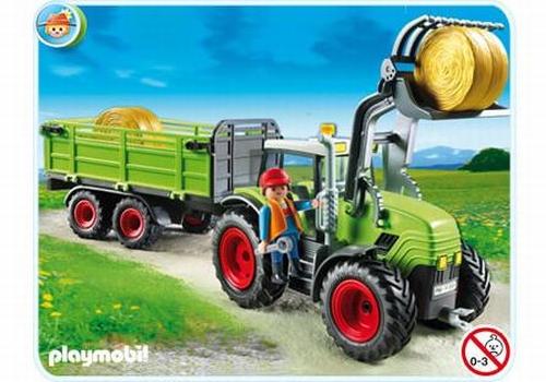 Playmobil Grand tracteur et remorque 5121