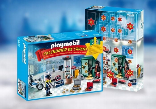 Playmobil Calendrier de l'avent Policier et cambrioleur 9007