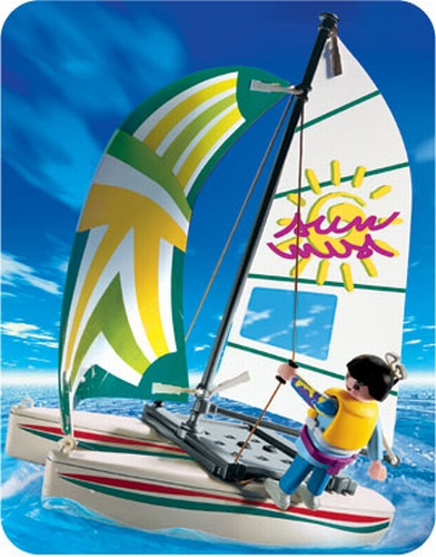Playmobil Fillette catamaran 3183