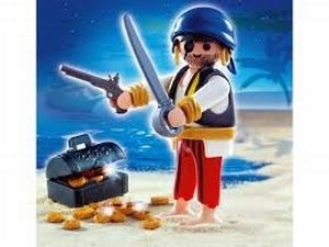 Pirate coffre au trésor 4662