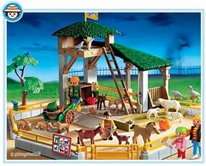 playmobil parc animalier 3243. Black Bedroom Furniture Sets. Home Design Ideas