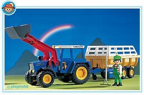 Playmobil Tracteur remorque 3073