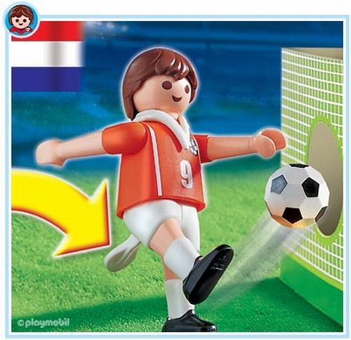 Playmobil Footballeur Hollandais 4713