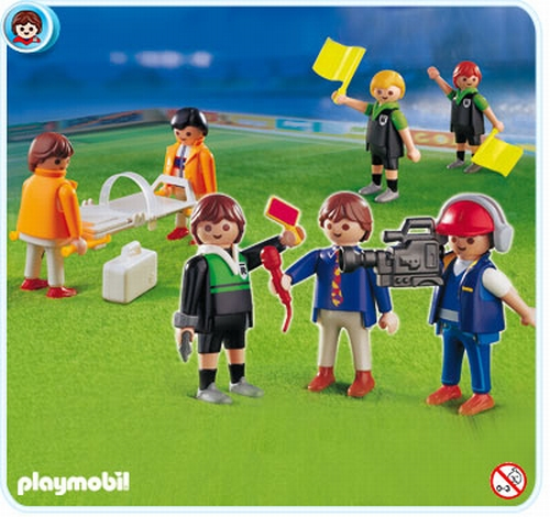 Playmobil Arbitres journalistes et médecins 4717