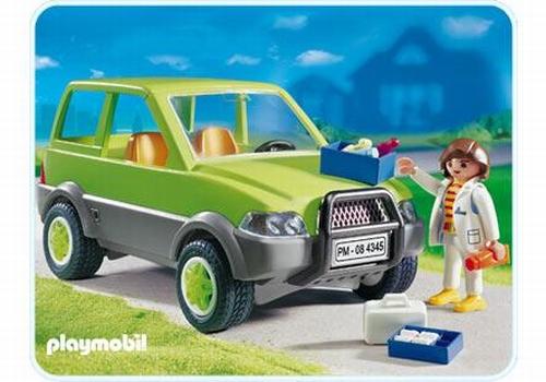 Playmobil Vétérinaire avec 4X4 4345