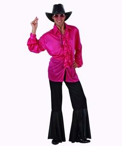 Deguisement costume Disco homme rose