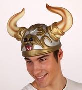 Casque Viking tête de mort