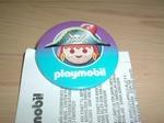 Badge  Playmobil Pirate neuf