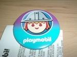 Badge Playmobil Chevalier neuf