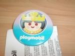Badge Playmobil Reine neuf
