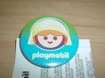 Badge Playmobil Fermière neuf