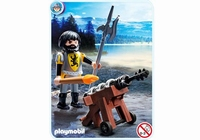 Playmobil Canonier des chevaliers du lion 4870