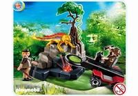 Playmobil Détecteur de métaux avec chasseurs de trésors 4847