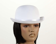 Chapeau melon blanc