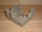 Créneaux pour tour carrée