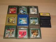 Lot 10 jeux de Game Boy