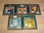 Lot 5 jeux de Game Boy