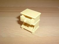 Table de chevet jaune