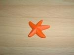 Etoile de mer orange