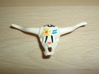 Crâne taureau