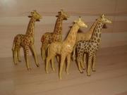 Lot de 5 girafes cassées et en mauvais état