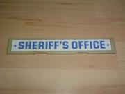 Enseigne Sheriff's office