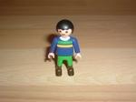 Enfant pantalon vert bottes marron