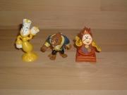 Lot figurines La Belle et la Bête