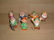 Lot figurines les 7 nains
