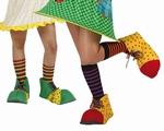 Chaussures clown souples 25 cm
