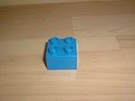 Brique 4 picots bleu