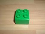 Brique 4 picots vert