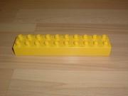 Brique 20 picots jaune