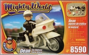 mighty world  police et moto neuf