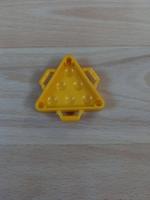 Caisse rangement boulets jaune