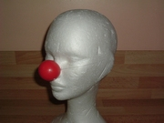 Nez de clown rouge neuf