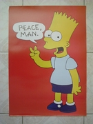 Simpsons peace man
